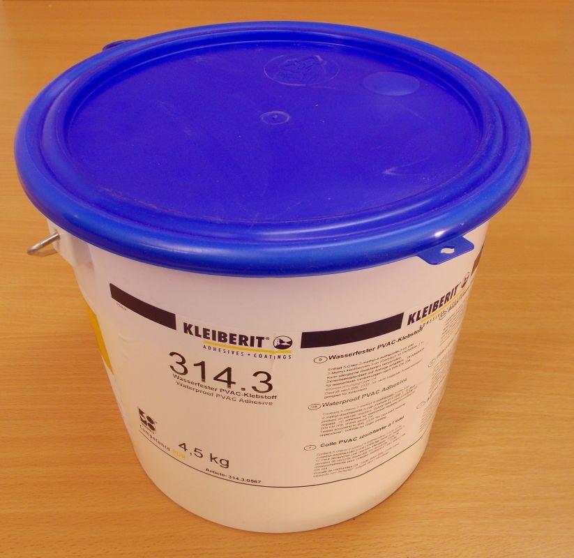 Lepidlo disperzní D4. Kleiberit 314. 3, kbelík 4,5 kg