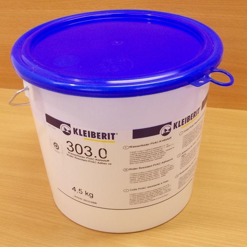 Lepidlo disperzní Kleiberit 303 , kbelík 4,5 kg