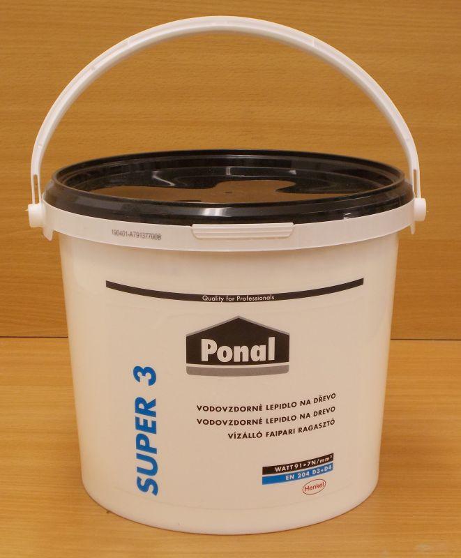 Lepidlo disperzní PONAL- Super 3 ,balení = kbelík 5kg