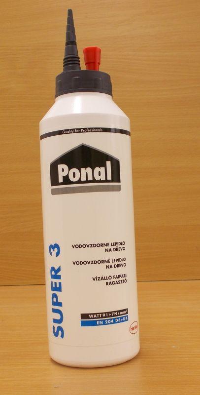 Lepidlo disperzní PONAL- Super 3 ,balení = lahev 0,75kg