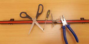 Magnetická lišta 61 cm , silný magnet - 1kus