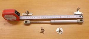 Plynová vzpěra, plynový píst, síla 120N, bal=1ks
