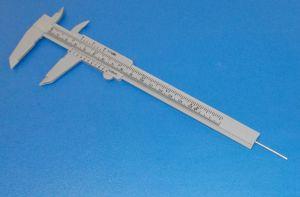 Posuvné měřítko, šuplera,posuvka - Plast 150mm , 1kus