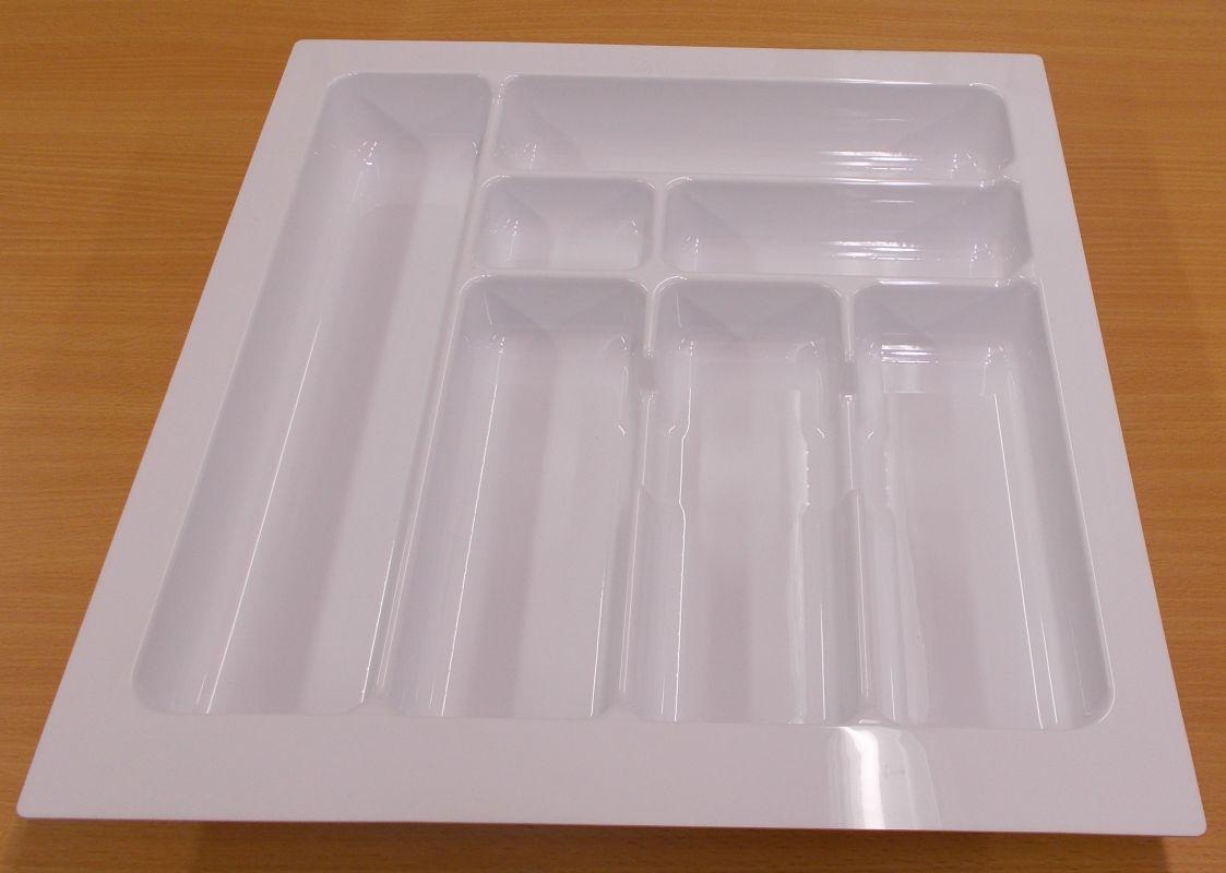 příborník 50 rovný , bílý, rozměr 435x490mm,balení=1kus