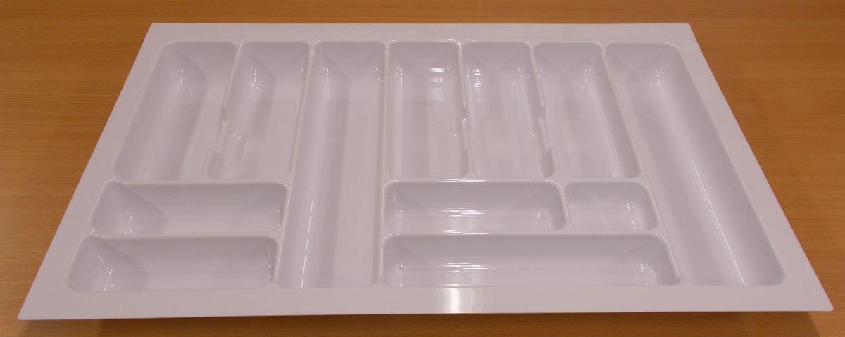 příborník 80 rovný , bílý, rozměr 735x490mm,balení=1kus