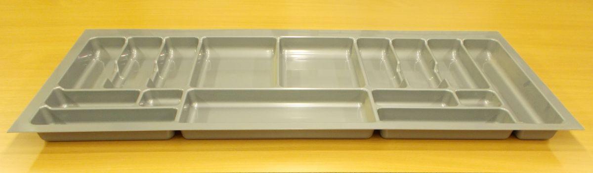 příborník 120 rovný , šedá metalíza, rozměr 1116x490mm