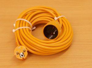 Prodlužovací kabel, 10m, 1 zásuvka , 1 kus