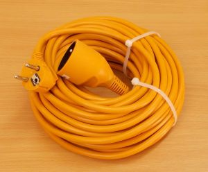 Prodlužovací kabel, 20 metrů, 1 zásuvka , 1 kus