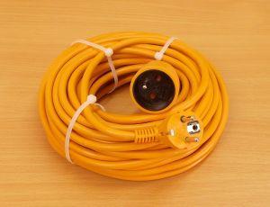 Prodlužovací kabel, 20m, 1 zásuvka , 1 kus